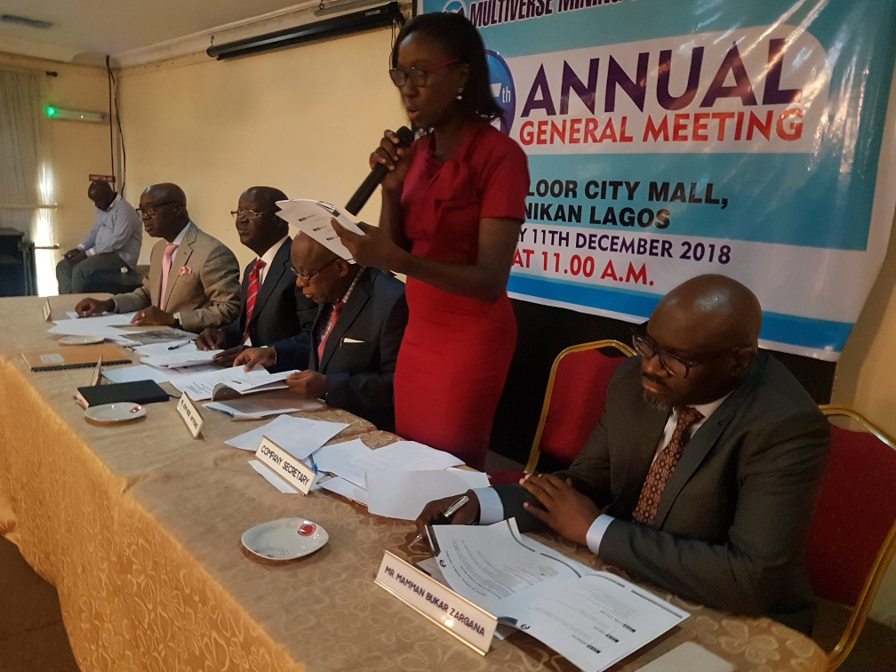 2018 Annual General Meeting -